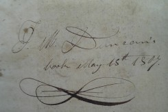 Signature of J.M. Duncan dated May 15, 1807