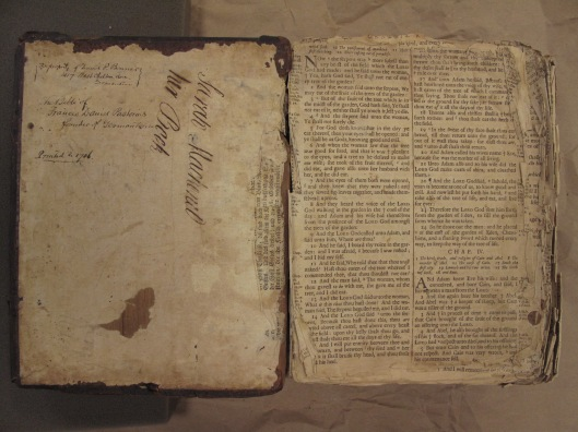 Pastorius Bible.Front Interior Cover.BT