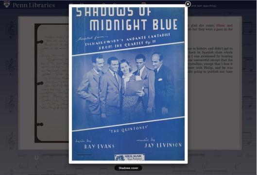 Shadows of Midnight Blue