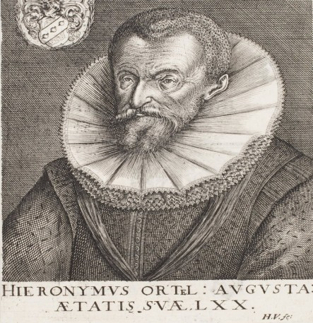 Portrait of Ortel. Nuremberg, 1615. HAB copy.